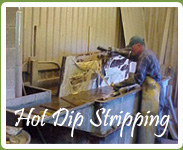 Hot Dip Stripping